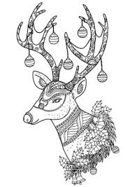 You can also find more fun reindeer pictures if you follow the links under the large picture below. 30 Free Reindeer Coloring Pages Printable