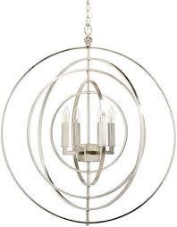 at one kings lane chelsea house globe 4 light chandelier nickel