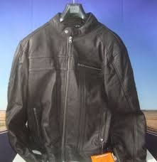details about agv sport tracer men s leather motorcycle street vintage hd jacket black xl hb