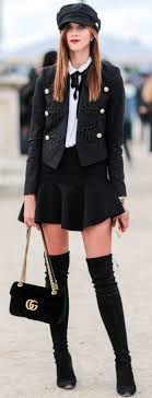 126 best Thigh high boots outfit images on Pinterest | Thigh high ...