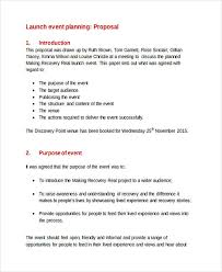 Event Planning Proposal 36 Event Proposal Examples Pdf Doc Psd 123011600037 Event