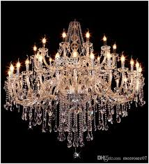 2016 real hot modern chandelier 40 lights unique handmade in china murano large elegent crystal chandelier modern glass res md8840 large project