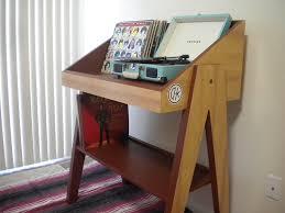 amazoncom record player and vinyl storage stand handmade