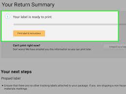 Printed Return Address Label Simple Ways To Print An Amazon Return Label 10 Steps