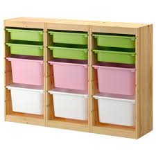 Kids Toy Storage Furniture Ikea Toy Storage With Three Color Boxes