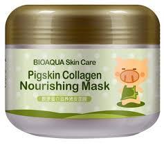 Купить BioAqua Питательная <b>коллагеновая маска</b> Pigskin ...