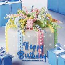 Happy Birthday Flowers Gifs Tenor