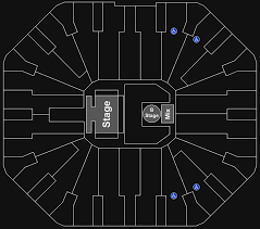 Don Haskins Center El Paso Seating Chart Online Charts Collection