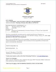 Bid Proposal Letter Sample Cleaning Proposal Letter Elegant Sample Contract For Catering
