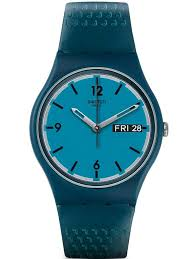 swatch watches houseofwatches co uk swatch mens blue bottle strap watch gn719