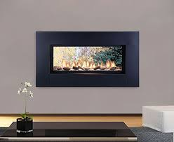 artisan see through vent free linear fireplace