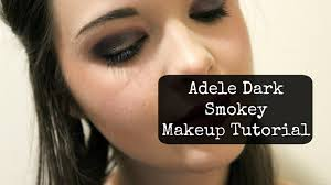 adele s makeover dark smokey makeup free tutorial with pictures on how to create a