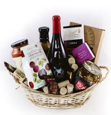 lake chelan winery gift basket