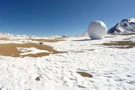 ALMA hosts monumental golf ball installation | ALMA