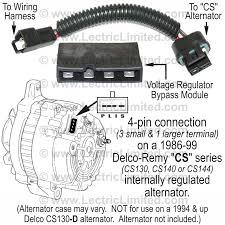 wiring conversions and modifications for classic muscle cars alternator conversion harness part vak6368cs