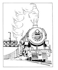 Small Picture Free Printable Train Coloring Pages For Kids