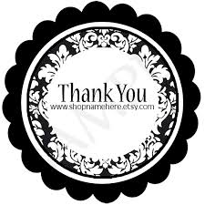 il_fullxfull.223391240 black damask fancy thank you round label template on sandwich label template