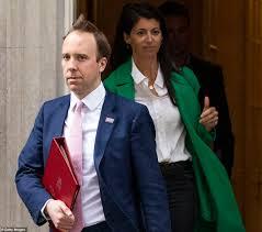 Ex Well being Secretary Matt Hancock is noticed with lover Gina Coladangelo  - elegant news