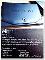 elf studio makeup clutch palette swatches fotd