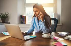 Telecommute Job Home On The Job Telecommuting Offers Opportunity But Also Comes