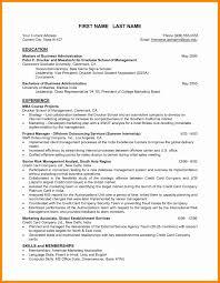 Business Resume Format Fresh London Business School Resume Format