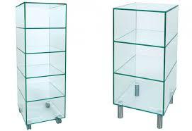 large small size greenapple glass shelf unit