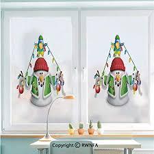<b>Window Glass</b> Sticker Door Mural Cartoon Whimsical Character with ...