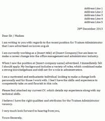 trainee administrator cover letter icoverorguk database administrator cover letter