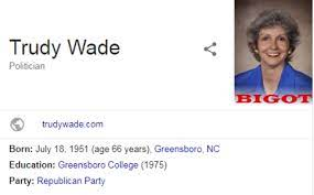 """Google result for Republican shows picture with """"BIGOT"""" on it - CBS News"""