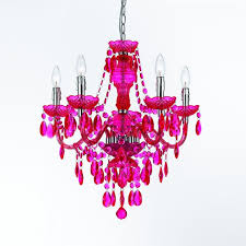 5 light chandelier hot pink contemporary chandeliers pink crystal chandelier