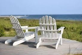 adirondack chairs on beach. Brilliant Beach Adirondack Chairs On Deck Looking Towards Beach Bald Head Island North  Carolina Stock For Chairs On Beach I