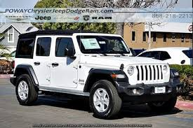 jeep wrangler unlimited white. Unique Wrangler Comments Bright White Clearcoat 2018 Jeep Wrangler Unlimited Sport S 4WD  8Speed Automatic 36L 6Cylinder ABS Brakes Compass Electronic Stability  Inside E