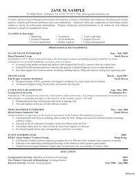 8 9 Internship On Resume Example Tablethreeten Com