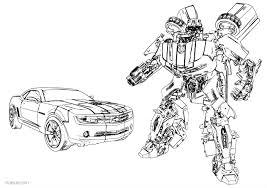 Coloriage Transformers Imprimer