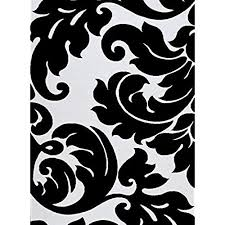 black and white area rug 3459 black white damask 710 x 106 modern abstract area rug