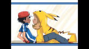 SERENA BESA A ASH!! ultimo capitulo de pokemon xyz - YouTube