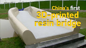 Chinas First 3d Printed Resin Bridge Ready To Welcome Visitors In