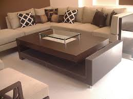 rectangular coffee table designs for living room