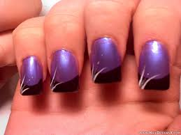 Purple nail art design images - how you can do it at home ...