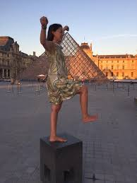 "Katharine Marino on Twitter: ""When in Paris #lourve #travel #yoga ..."