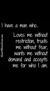 Love My Man Quotes