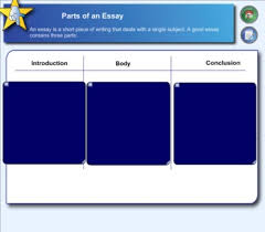 Parts Of A Essay Parts Of An Essay Teaching Resources Teachers Pay Teachers