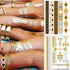 5 Pcs Tetovací Nálepky Dočasné Tetování Náramek Módní Design