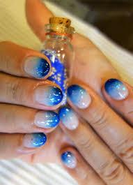 シャンテグラム On Twitter ネイル紹介 蓄光ネイル 美しい青の