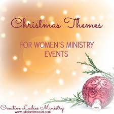 Christmas Program Theme Christmas Theme And Party Ideas For Womens Ministry