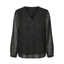 «<b>Блузка La Redoute С</b> v-образным вырезом и длинными ...