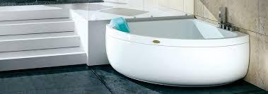 aquasoul corner 140 freestanding jetted tub header