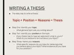 writing a literary analysis essay the only guide you will ever  6 writing a thesis □the easy way