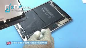 Ipad Screen Light Not Working Ipad Air 2 No Backlight Dim Screen Repair And Fix Missing Component Xfix Co Uk