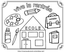 Nos Jeux De Coloriage Rentr E Maternelle Imprimer Gratuit Page